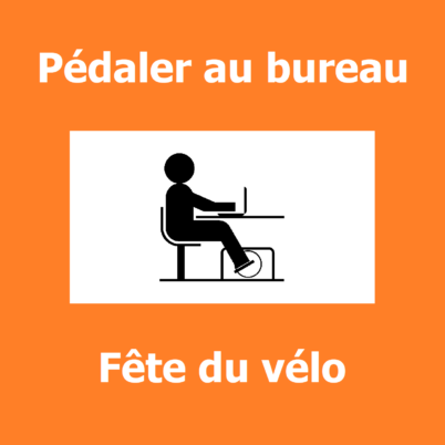 Une solution pour pédaler au bureau à la Fête du Vélo 2019