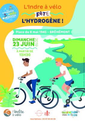 Dimanche 23 juin 2019 : L'Indre à vélo fête l'hydrogène
