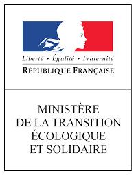 Logo du Ministère de la Transition écologique et solidaire.