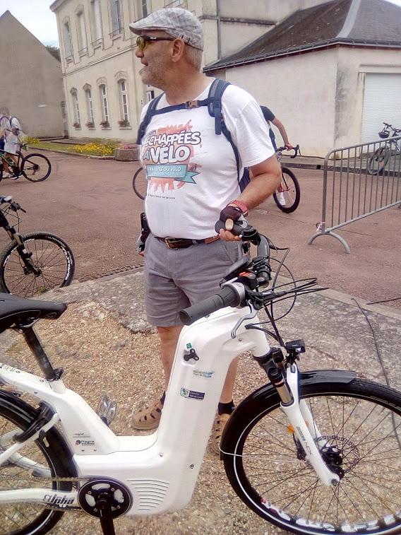 Vélo à hydrogène à Bréhémont, Indre-et-Loire le 23 juin 2019. @CC37