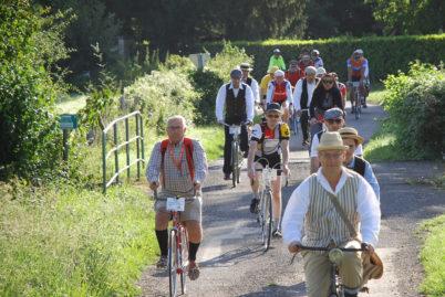 La Sainpatophe, la fête du vélo vintage en nord Touraine
