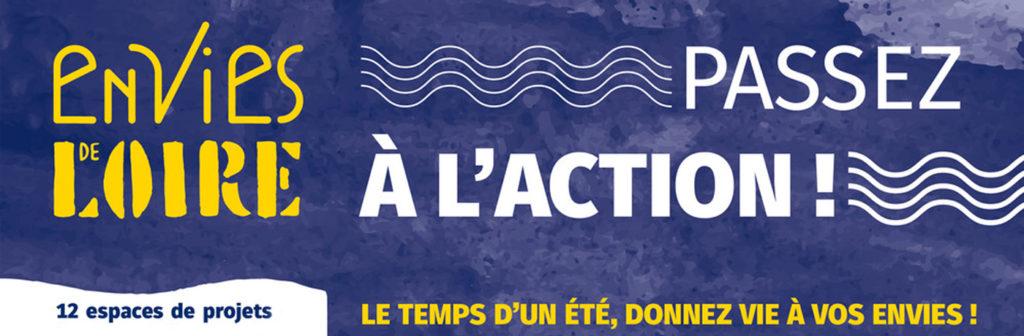 """""""Envies de Loire"""", le temps d'un été, donnez vie à vos envies ! @Tours Métropole Val de Loire, 2019."""