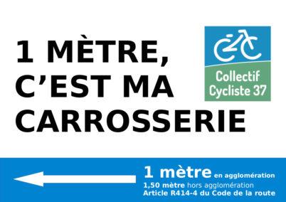 Action militante « Les cyclistes ont la frite ! »