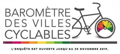 Baromètre des villes cyclables 2019 : répondez massivement à notre enquête !