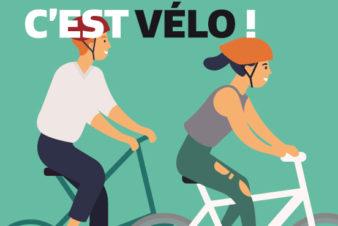 """Visuel des """"dimanches sans voitures"""" à Tours, septembre 2019. @Ville de Tours."""