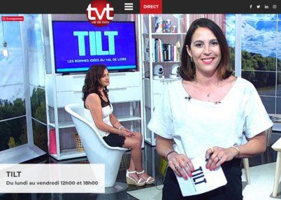 Une chronique vélo mensuelle dans TILT ! sur TV Tours