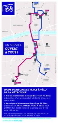 Dix abris vélos sécurisés sur la métropole de Tours