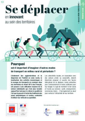Municipales 2020 : «Se déplacer en innovant au sein des territoires», idées et solutions de l'ADEME