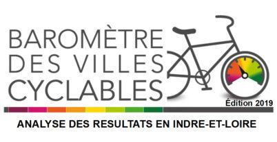 Résultats du Baromètre des Villes Cyclables 2019 en Touraine : deux années pour rien !