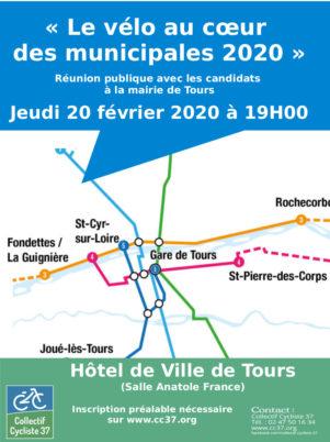Le compte rendu de notre réunion publique «Le vélo au cœur des municipales 2020»