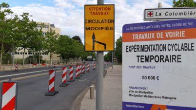 Suivi des aménagements cyclables transitoires de Tours Métropole Val de Loire