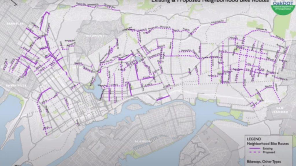 Oakland : plan de fermeture des voies de dessertes.