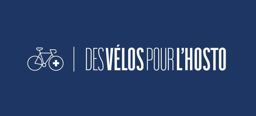"""""""Des vélos pour l'hosto"""", le logo. @FUB""""Des vélos pour l'hosto"""", le logo. @FUB"""