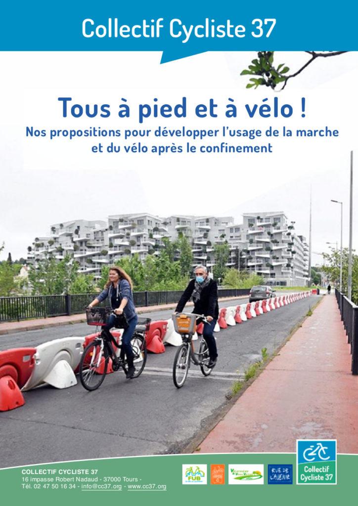 """Une piste cyclable temporaire dite """"coronapiste"""" à Montpellier, le 24 avril dernier. / © MaxPPP/ Richard de Hullessen"""