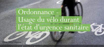 Grâce à la FUB, le Conseil d'Etat contraint le gouvernement à clarifier son discours sur le vélo