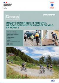 Impact économique et potentiel de développement des usages du vélo en France en 2020