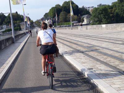 Action Militante « Merci d'avoir choisi le vélo » le jeudi 3 septembre 2020
