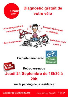 Étudiants, bénéficiez d'un diagnostic gratuit de votre vélo !
