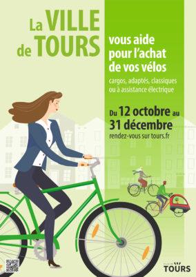 Ville de Tours : aide à l'achat de vélos jusqu'au 31 décembre 2020