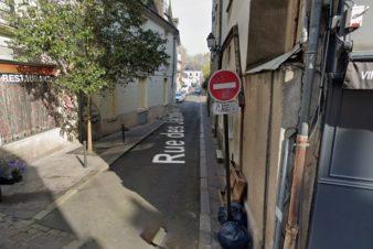 Tours, rue des Jacobins, quartier Colbert.