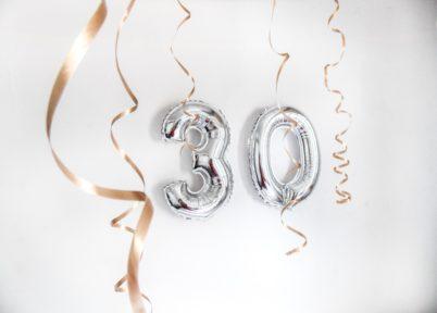 30 ans, ça se fête!