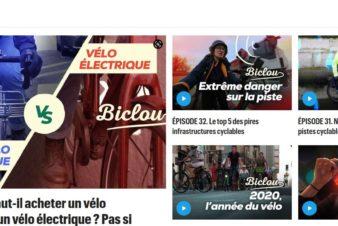 Biclou, le magazine vidéo hebdomadaire du Parisien dédié au vélo urbain.