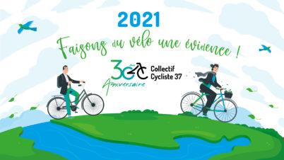 En 2021, je rejoins le Collectif Cycliste 37 : une adhésion qui a du sens