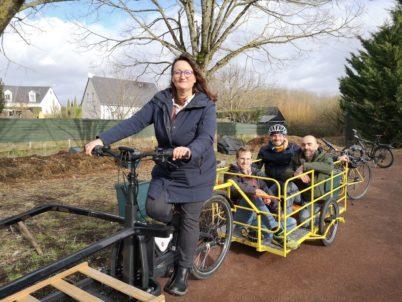 Les Vers de Tours : collecter à vélo les biodechets des professionnels et les valoriser via le lombricompostage