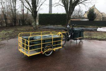 Les outils de travail de l'équipe des Vers de Tours, 2021.