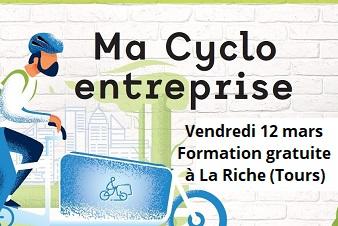 Vendredi 12 mars: formation gratuite sur la cyclomobilité pro