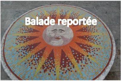 *** BALADE REPORTÉE*** Dimanche 11 avril, balade à vélo : quelques céramistes et mosaïstes à Tours