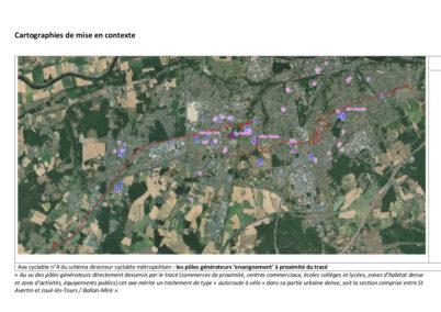 Concertation publique sur un nouvel itinéraire cyclable reliant Saint-Avertin à Druye