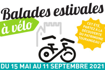 Balades estivales à vélo Redécouvrez à vélo le patrimoine architectural et paysager de Tours et de ses environs autour de cinq balades thématiques. Tout l'été, l'Accueil Vélo et Rando vous propose des sorties vélo guidées par les accompagnateurs du Collectif Cycliste 37.