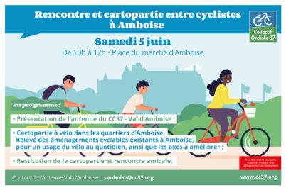 Val d'Amboise : lancement de l'antenne locale du CC37 samedi 5 juin 2021 !