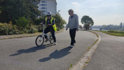 Vélo-école pour adultes : recherche moniteurs bénévoles