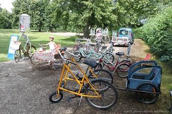 Location éphémère de vélos à Savonnières cet été 2021