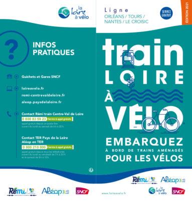 Embarquez votre vélo à bord du train Loire à Vélo