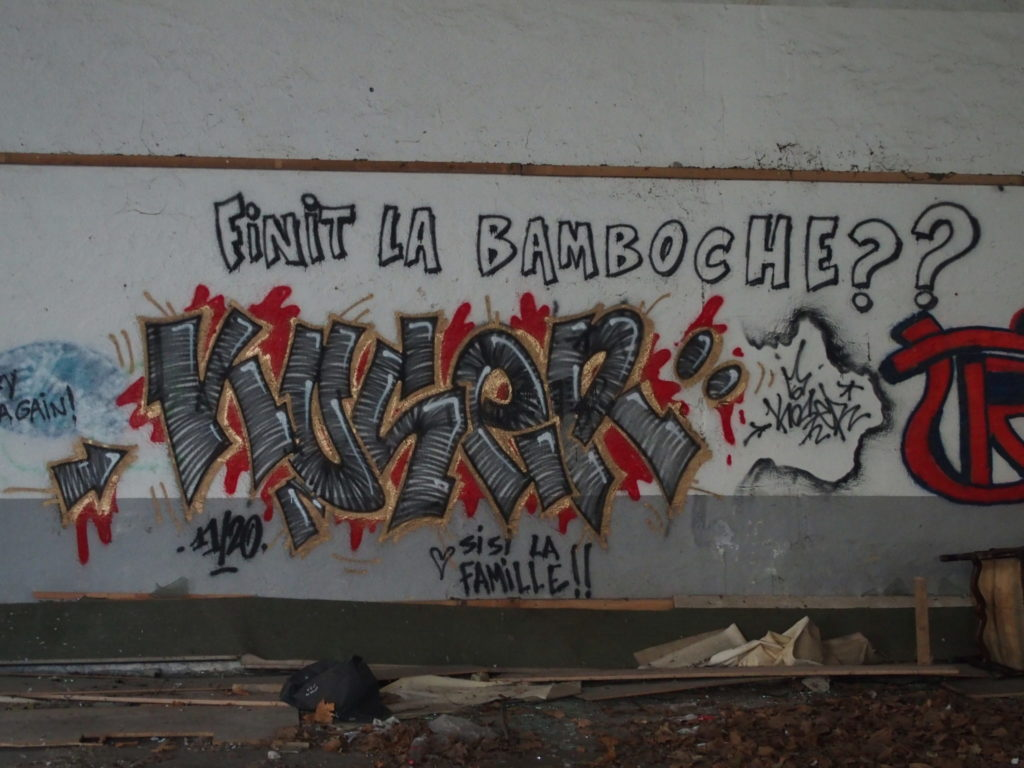 Street Art à la Caserne Chauveau à Tours ©Photo : CC37.