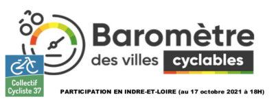 Baromètre des villes cyclables 2021 : quelle participation en Indre-et-Loire ?